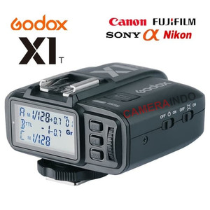 Harga trigger godox x1t s c n f wireless flash trigger hss kamera   | HARGALOKA.COM