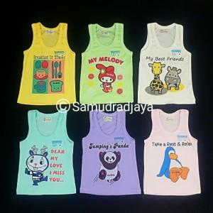 Harga 6 pcs kaos 12bln singlet size xl anak balita one baby baju | HARGALOKA.COM