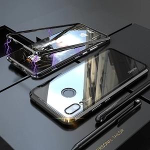 Harga 360 hardcase huawei honor 8x flip bumper metal magnet glass case | HARGALOKA.COM