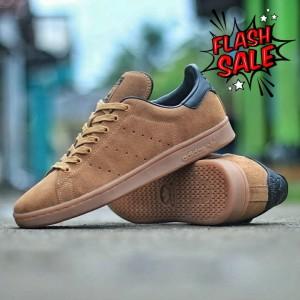 Harga sepatu adidas stansmith brown suede original made in | HARGALOKA.COM