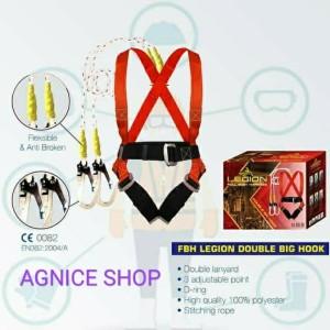 Katalog Legion Full Body Harness Double Big Hook Double Hook Murah Katalog.or.id