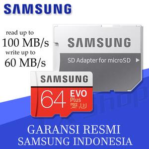 Harga samsung microsd 64gb evo plus 100mb s micro sd card samung 64 | HARGALOKA.COM