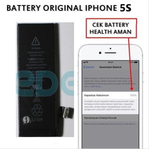 Harga murah baterai iphone 5s original kd 001279 ori | HARGALOKA.COM