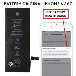 Harga murah baterai iphone 6 iphone 6g original kd 001258 ori | HARGALOKA.COM