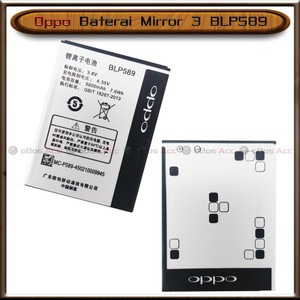 Harga baterai oppo mirror 3 blp589 blp 589 double power batre batrai | HARGALOKA.COM