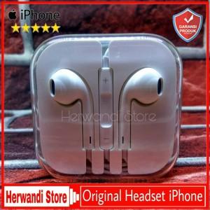 Harga headset handsfree iphone 4 4s 4g 3gs original 100 | HARGALOKA.COM