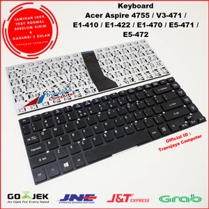 Harga keyboard laptop acer aspire 4755 acer 4755g series acer e1 422 | HARGALOKA.COM