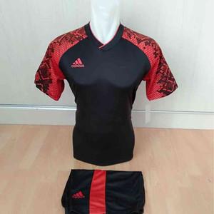 Harga baju futsal nike merah hitam seragam | HARGALOKA.COM