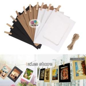 Harga frame foto gantung photo frame bingkai foto gantung 4r | HARGALOKA.COM