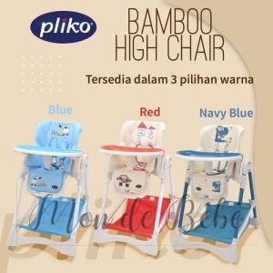 Harga high chair pliko bamboo hc 563 kursi makan | HARGALOKA.COM