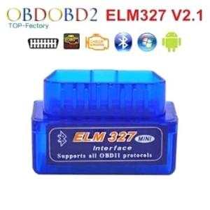 Harga clearence sale elm327 bluetooth obd ii 2 obdii obd2 v2 1 car scanner   biru foto   HARGALOKA.COM