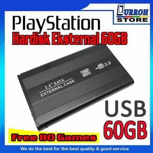 Harga hardisk hardis eksternal ps2 ps 2 60gb 60 gb   udah ada | HARGALOKA.COM