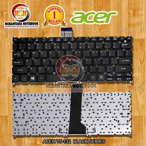 Harga keyboard acer v5 132 e3 111 hitam black for laptop | HARGALOKA.COM