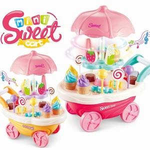 Harga mainan anak gerobak permen dan es krim   mainan gerobak mini | HARGALOKA.COM