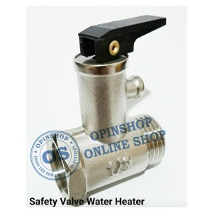 Harga safety valve water heater stenlis steel | HARGALOKA.COM