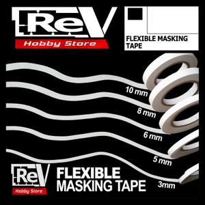 Harga masking tape flexible 5mmx18m untuk airbrush model kit military | HARGALOKA.COM