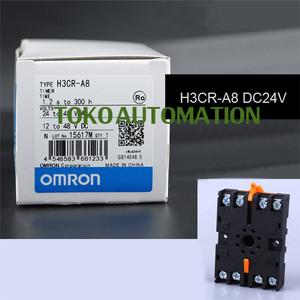 Harga timer h3cr a8 h3cr a8 h3cr   a8 h3cra8 24v dc with socket   HARGALOKA.COM