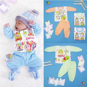Harga piyama kaos kartun uk bayi baju tidur anak setelan lengan panjang   full | HARGALOKA.COM