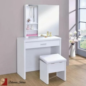 Harga belanova interior   meja rias sliding mirror nydia | HARGALOKA.COM