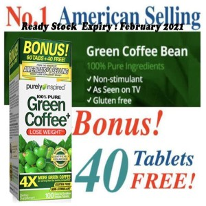 Harga purely inspired 100 pure green coffee lose weight   100 | HARGALOKA.COM