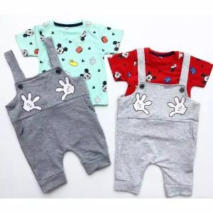 Harga mickey overall overall bayi lucu murah overall anak baju | HARGALOKA.COM