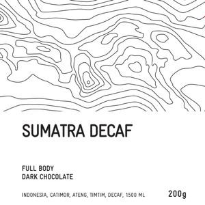 Harga biji kopi arabika manual brew   sumatra decaf 1 | HARGALOKA.COM