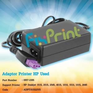Harga adaptor charger printer hp 1515 original 22v 455ma 22 volt | HARGALOKA.COM