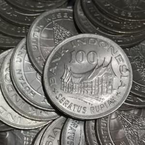 Katalog Up077 Uang Kuno 100 Rupiah Badak Cula 1 Th 1977 Uangkoleksi Uanglama Katalog.or.id