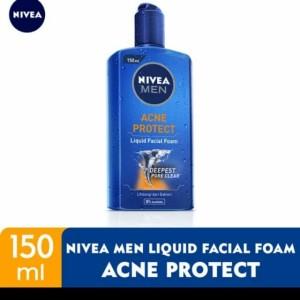 Harga nivea men acne protect liquid facial foam 150 | HARGALOKA.COM