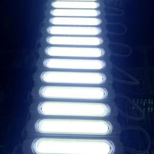 Harga lampu led modul cob panjang dc 12v warna putih cahaya super   HARGALOKA.COM