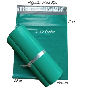 Harga plastik polymailer 25x35 isi 25 lembar plastik packing online   HARGALOKA.COM