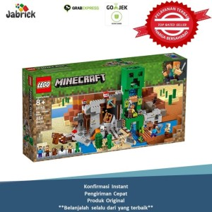 Harga lego 21155 minecraft the creeper | HARGALOKA.COM
