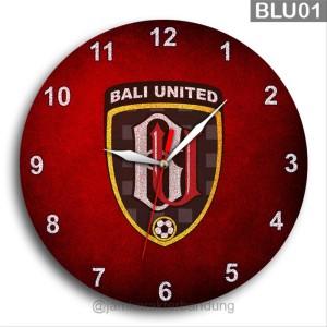 Harga jam dinding bola bali united liga 1 indonesia | HARGALOKA.COM