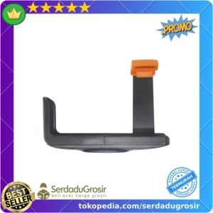 Harga promo universal holder l clamp orange flip for smartphone up to 6 | HARGALOKA.COM