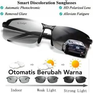 Harga kaca mata anti silau siang dan malam photochromic polarized   HARGALOKA.COM