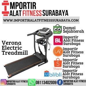 Harga alat fitness elektrik treadmill verona alat olahraga | HARGALOKA.COM