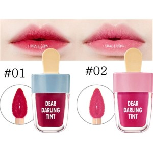 Harga nv5191 02 bean paste novo cute ice cream shape lip tint lip glaze | HARGALOKA.COM