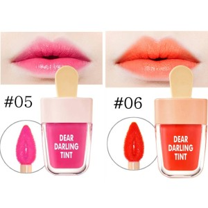 Harga nv5191 06 orange novo cute ice cream shape lip tint lip glaze | HARGALOKA.COM
