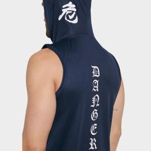 Harga donson hoodie sleeveless tank top danger head back | HARGALOKA.COM