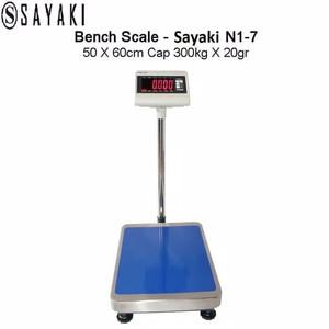Harga timbangan barang timbangan digital timbangan duduk sayaki n1 7   HARGALOKA.COM