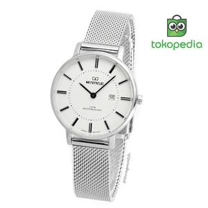Harga miragewatch original jam tangan wanita mirage pasir silver   HARGALOKA.COM