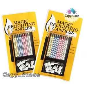 Katalog Lilin Magic Lilin Ajaib Magic Candle Magic Relighting Candle Katalog.or.id
