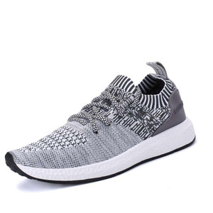 Harga sepatu sneakers kasual pria import markemit v380  grey   abu abu | HARGALOKA.COM