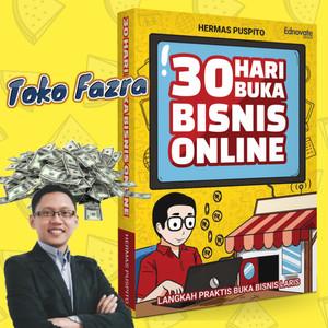 Harga buku 30 hari buka bisnis online bonus   HARGALOKA.COM