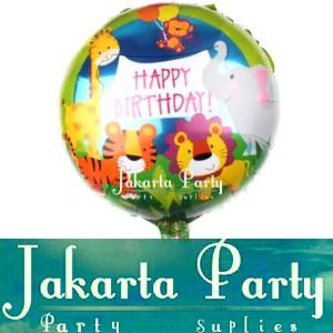 Harga balon foil bulat jungle balon safari balon binatang balon | HARGALOKA.COM