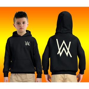 Harga jaket hoodie jumper anak alan walker merah   navy   hitam   abu   6 7 tahun | HARGALOKA.COM