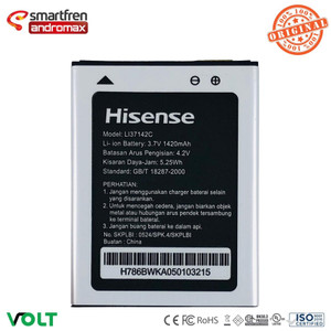 Harga li37142c baterai andromax c ad686g battery hisense original | HARGALOKA.COM
