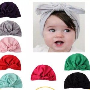 Harga babygima topi turban ikat kelinci untuk bayi anak perempuan   | HARGALOKA.COM