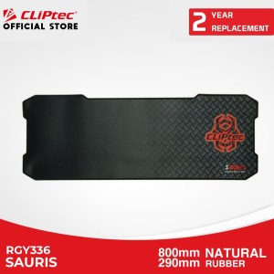 Harga mousepad gaming cliptec rgy336 sauris mouse pad rubber murah | HARGALOKA.COM