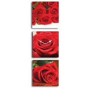 Harga jam dinding shabby chic mawar 40x120cm hiasan rumah apartemen | HARGALOKA.COM